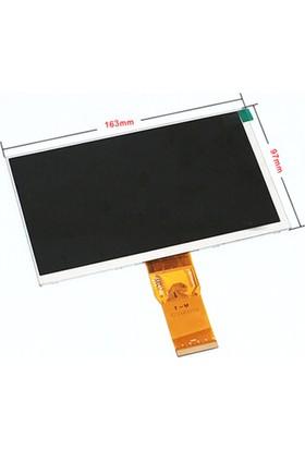 UniPad Smart 3G 7 İnç Tablet Lcd İç Ekran