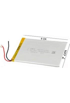 X-Micro 7 İnç 95X70 Mm 3.7V 3800 mAh Tablet Batarya