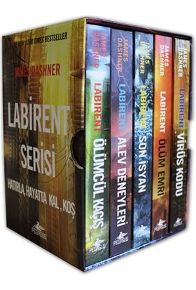 Labirent Serisi Kutulu Set (5 Kitap) - James Dashner