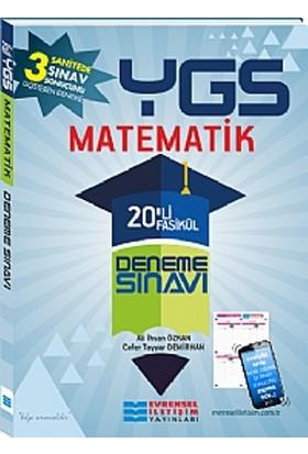 Evrensel İletişim Yayınları Ygs Matematik 20'Li Fasikül Deneme Sınavları - Ali İhsan Özkan