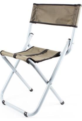 Spotbalık Katlanır Tabure Sandalye 60X25Cm Portatif