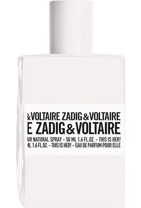 Zadig Voltaire This Is Her Bayan Edp 50ml