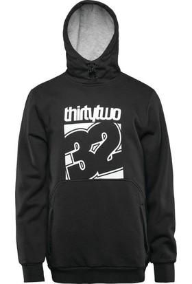 Thirtytwo Stamped Po Blk Suya Dirençli Sweatshirt