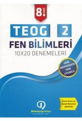 Birinci Yayınları 8. Sınıf Teog 2 Fen Bilimleri 10X20 Denemeleri