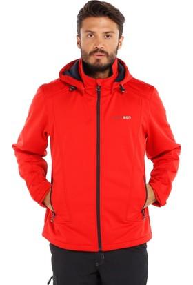 Bjornson Bırger Softshell Kırmızı Kayak Ceketi