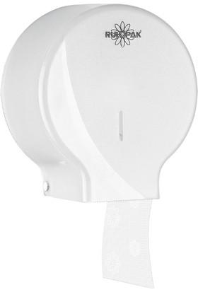Rulopak Modern Mini Jumbo Tuvalet Kağıt Dispenseri Beyaz