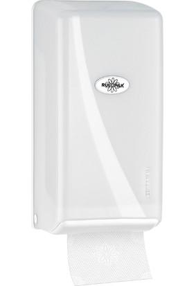 Rulopak Modern C Katlı Tuvalet Kağıt Dispenseri 400 'Lü Beyaz
