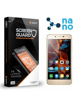 Dafoni Lenovo Vibe K5 Nano Glass Premium Cam Ekran Koruyucu