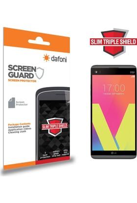 Dafoni LG V20 Slim Triple Shield Ekran Koruyucu