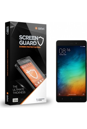 Dafoni Xiaomi Redmi 3S Tempered Glass Premium Cam Ekran Koruyucu