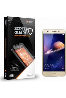 Dafoni Huawei Y6 ii Tempered Glass Premium Cam Ekran Koruyucu