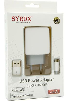 Syrox Lg G5 Speed Ultra Hızlı Şarj Aleti