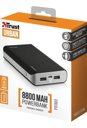Trust 21227 Urban Primo 8800 mAh Powerbank - Siyah