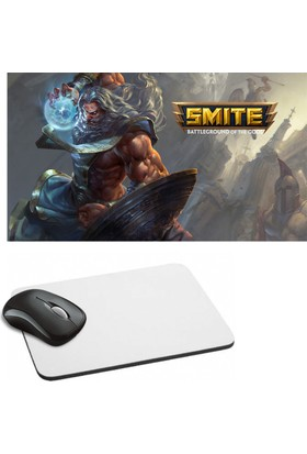 Fotografyabaskı Smite Baskılı Dikdörtgen Mouse Pad