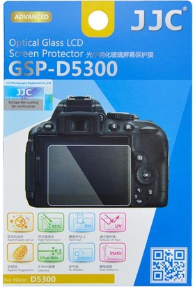 JJC Ultra İnce LCD Ekran Koruyucu (Nikon D5300, D5500)