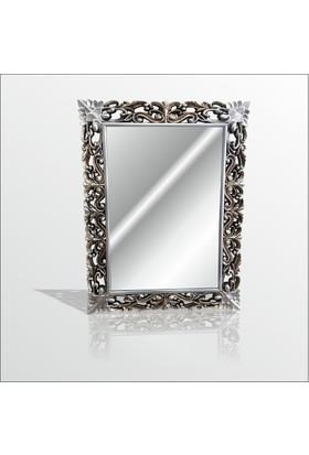 M3 Decorium Eskitme Gümüş İşleme Rustik Boy Banyo Duvar Salon Aynası