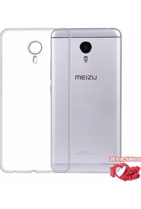 Coverzone Meizu M3 Note Kılıf 0,2 Ultra İnce Silikon + 3D Araç Kokusu