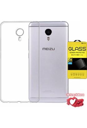Coverzone Meizu M3 Note Kılıf 0,2 Ultra İnce Silikon + + 3D Araç Kokusu