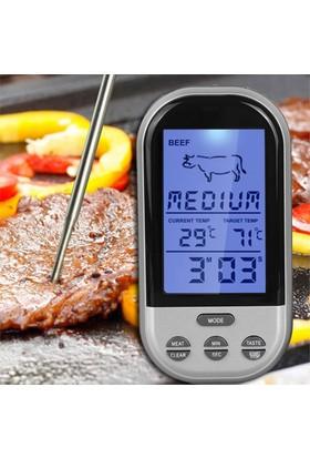 Kablosuz Alarmlı Fırın Ve Yemek Termometre Thr184