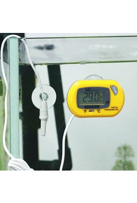 Kablolu Elektronik Akvaryum Termometresi Thr189