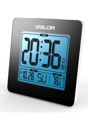 Baldr Alarmlı Termometreli Masa Saati Takvimli Thr192