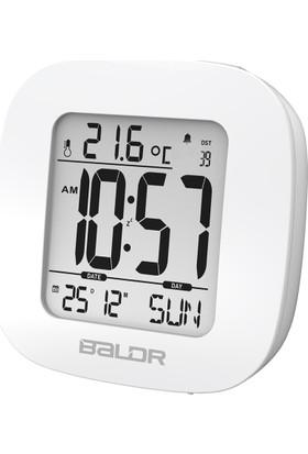 Baldr Alarmlı Saat Termometre Masa Saati Thr193