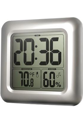 Baldr Büyük Ekran Dev Boy Termometre Ve Duvar Saati Thr197X