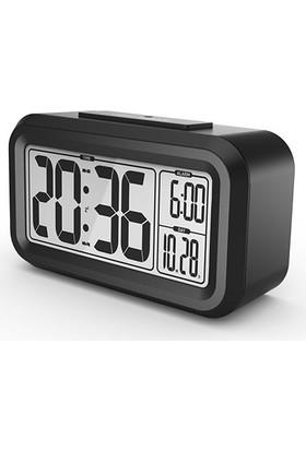 Baldr Takvimli Alarmlı Masa Saati Işıklı Thr198