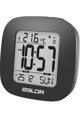 Baldr Alarmlı Saat Termometre Masa Saati Thr199