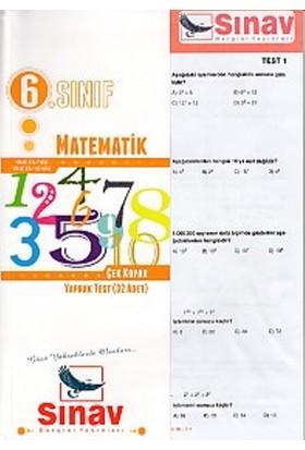Sınav Dergisi Yayınları 6. Sınıf Matematik Çek Kopar Yaprak Test