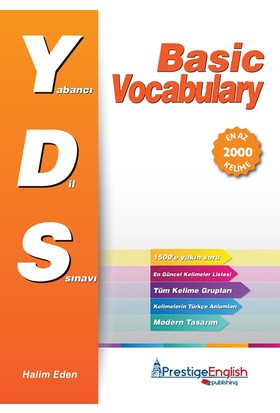 Prestige English Yds Basic Vocabulary