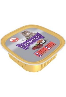 Champion 16 Adet Ciğerli Pate Yaş Kedi Maması 16 X 100 gr