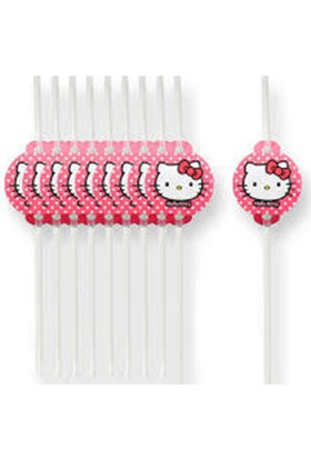 Partiland Hello Kitty Pipet 6 Adet