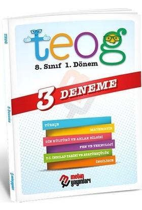 Metin Yayınları 8. Sınıf Teog 1. Dönem 3 Deneme