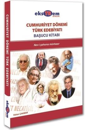 Ekstrem Ygs Lys Cumhuriyet Dönemi Türk Edebiyatı Başucu Kitabı
