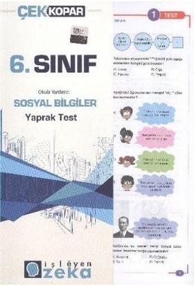 İşleyen Zeka 6. Sınıf Sosyal Bilgiler Yaprak Test