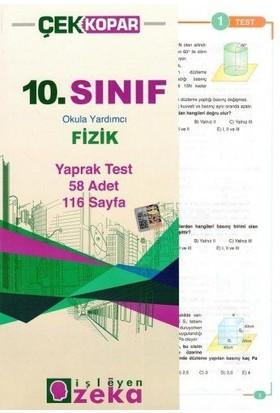 İşleyen Zeka 10. Sınıf Fizik Yaprak Test