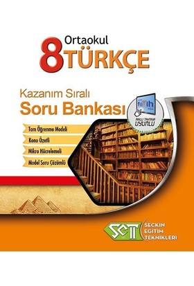 Seçkin Eğitim Teknikleri 8. Sınıf Türkçe Kazanım Sıralı Soru Bankası