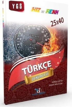 Yayın Denizi Ygs Türkçe Hız Ve Renk Denemeleri 25X40