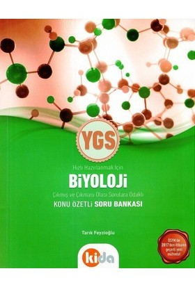 Kida Ygs Biyoloji Konu Özetli Soru Bankası