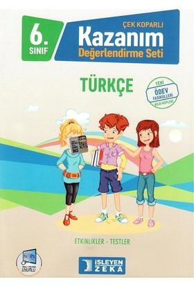 İşleyen Zeka 6. Sınıf Kazanım Değerlendirme Seti Türkçe