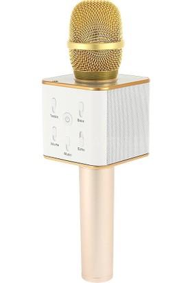Doppler Ktv-200 Karaoke Mikrofon + Mini Disco Işık