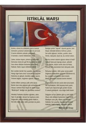 Martı Atatürk Portresi 50x70 MDF Çerçeve Duvara Monte