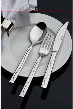 Almond Başak Sade 12'Li Tatlı Bıçağı