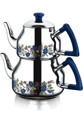 Özkent Marmaris Desenli Çaydanlık Takımı Orta