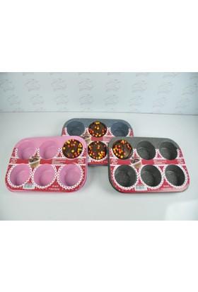 Cooker 6 Lı Muffin Kalıbı Granit Ckr1423