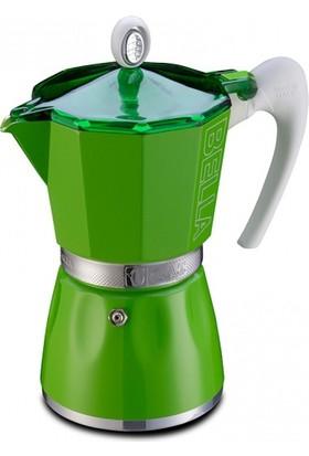 Gat Bella Espresso Makinası 3 Kişilik Yeşil