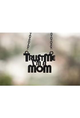 Noramore Trust Me Mom Kolye Siyah