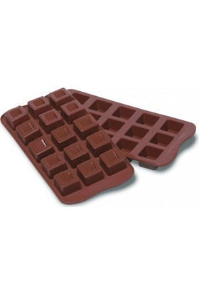 Silikomart Cube Çikolata Kalıbı