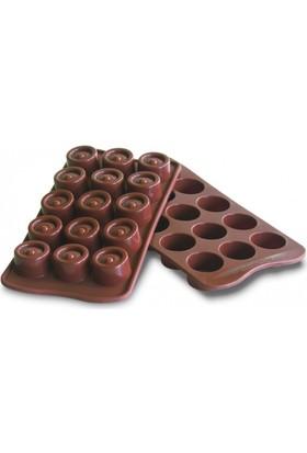 Silikomart Vertigo Çikolata Kalıbı